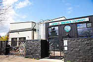 The outdoor seating area welcomes guests on warm, sunny afternoons and long Oregon summer nights.  Ninkasi is a regional craft brewery making beers in the Northwest style. Their location in Eugene, Oregon affords regional access for their primary ingredients, which include: Water, Malt, Hops and Yeast. With the strong regional hop industry, and access to the McKenzie River, source of some of the cleanest water in the world, Ninkasi is well positioned for their goal of brewing high quality craft beers. The beer's namesake, Ninkasi, was the Sumerian goddess of fermentation.