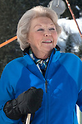 Fotosessie met de koninklijke familie in Lech /// Photoshoot with the Dutch royal family in Lech .<br /> <br /> Op de foto/ On the photo:  Prinses Beatrix /////  Princess Beatrix