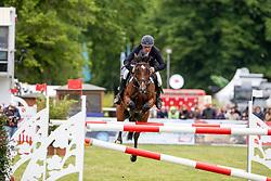 MOELLER Joerg (GER), Casado 8<br /> Redefin - Pferdefestival 2019<br /> ODDO BHF Speed Derby<br /> Mittlere Tour - Zeit-Springprüfung <br /> 25. Mai 2019<br /> © www.sportfotos-lafrentz.de/Stefan Lafrentz