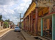 Street in Rodas, Cienfuegos Province, Cuba.