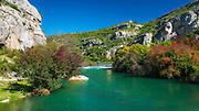 The Kirka River at Roski Slap, Krka National Park, Dalmatia, Croatia