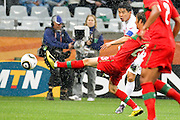 CAPE TOWN, SOUTH AFRICA, MONDAY 21 June 2010, HONG Yong Jo during the match between Portugal and Korea PRK held at the new Cape Town Stadium in Green Point during the 2010 FIFA World Cup..Photo by Roger Sedres/Image SA