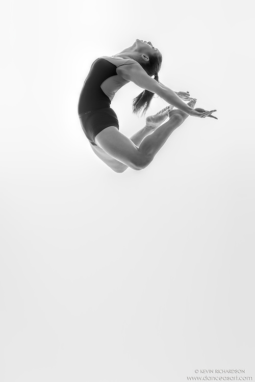 Black and white dance photography- Dance As Art Studio Series with Ashley Whitson