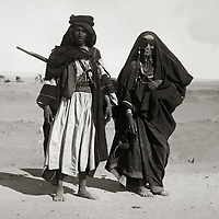 Bedouin Children and Couples