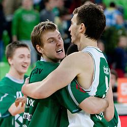 20120211: SLO, Basketball - ABA League, KK Union Olimpija vs KK Krka