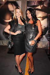 Left to right, HOLLY VALANCE and TAMARA ECCLESTONE at a party to celebrate 150 years of TAG Heuer held at the car park at Selfridge's, London on 15th September 2010.