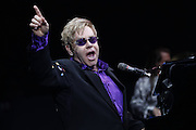 NEW YORK, NY - MARCH 16:  Singer Elton John performs in concert at Madison Square Garden on March 16, 2011 in New York City.  (Photo by Joe Kohen/Getty Images for New York Post)