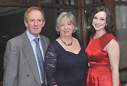 John Anne and Janine Ryan pictured at the Kilmeena Gaa Club Valentine's Dinner dance at the Westport Woods Hotel.<br />Pic Conor McKeown