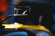 May 23-27, 2018: Monaco Grand Prix. Renault Sport Formula One Team, R.S. 18 mirror detail