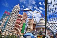 Roller Coaster @ The New York, New York Hotel
