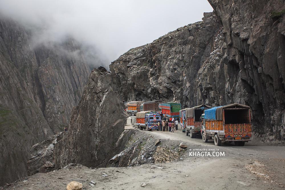 Zoji La Pass, Kashmir, India