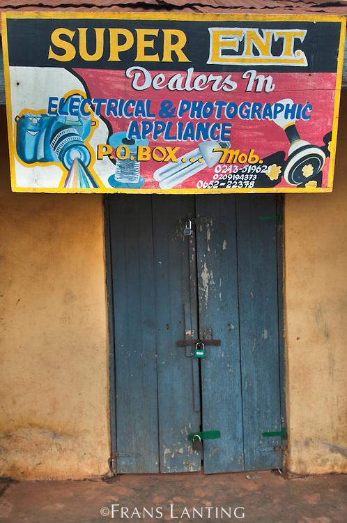 Shop front, Ghana