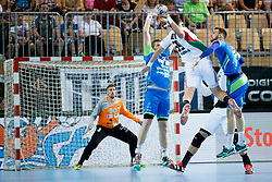 Richard Bodo of Hungary during handball game between Man National Teams of Slovenia and Hungary in 2019 Man's World Championship Qualification, on June 9, 2018 in Arena Bonifika, Ljubljana, Slovenia. Photo by Urban Urbanc / Sportida