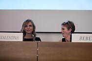 Bebe Vio e Valentina Vezzali durante il convegno sul ruolo delle donne nella sport professionistico a Palermo.