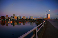 Morrison Bridge & Portland Skyline