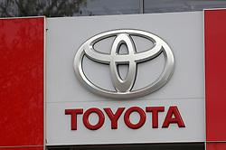 November 2, 2018.Toyota recalls over 1 million vehicles worldwide to fix airbag problem.Toyota car dealer in Freiburg, Germany  / November 2, 2018 (Credit Image: © Antonio Pisacreta/Ropi via ZUMA Press)