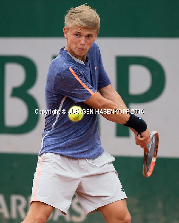 Marvin Moeller (GER) Junior Boys<br /> <br /> Tennis - French Open 2016 - Grand Slam ITF / ATP / WTA -  Roland Garros - Paris -  - France  - 3 June 2016.