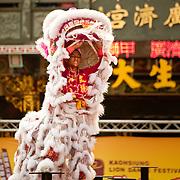 Kaohsiung Lion Dance Festival 2010, GuangJi Temple, Qianzhen, Kaohsiung City, Taiwan