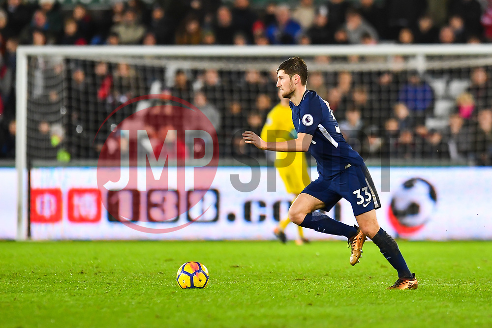 Ben Davies of Tottenham Hotspur in action - Mandatory by-line: Craig Thomas/JMP - 02/01/2018 - FOOTBALL - Liberty Stadium - Swansea, England - Swansea City v Tottenham Hotspur - Premier League