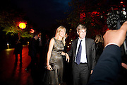 LADY HELEN TAYLOR; TIM TAYLOR. The Summer Party. Hosted by the Serpentine Gallery and CCC Moscow. Serpentine Gallery Pavilion designed by Frank Gehry. Kensington Gdns. London. 9 September 2008.  *** Local Caption *** -DO NOT ARCHIVE-© Copyright Photograph by Dafydd Jones. 248 Clapham Rd. London SW9 0PZ. Tel 0207 820 0771. www.dafjones.com.