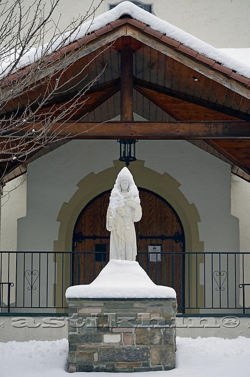 St Joan of Arc Church in Sloatsburg, NY.