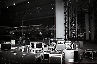 Michael Jackson reheasal set. Earls Court 2, The BRIT Awards 1996 <br /> Sunday 18 Feb 1996.<br /> Earls Court Exhibition Centre, London, England<br /> Photo: JM Enternational