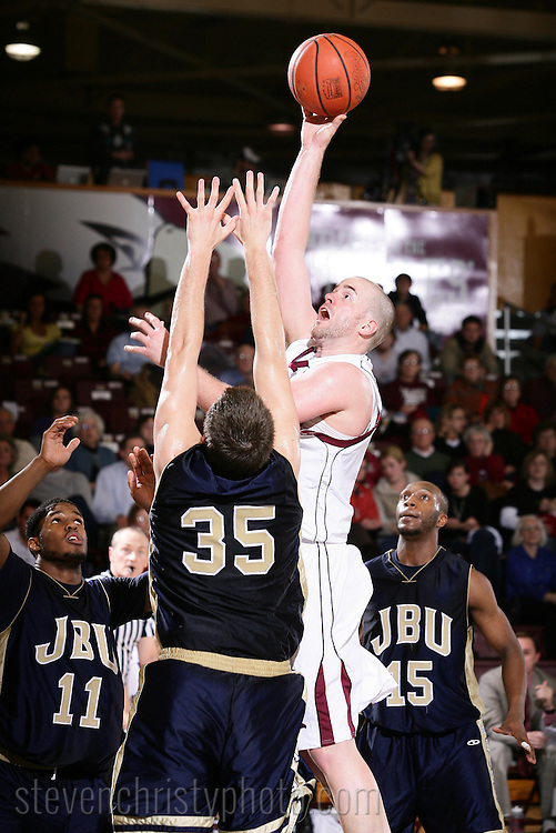 February 25, 2010: The John Brown University Golden Eagles play against the Oklahoma Christian University Eagles at the Eagles Nest on the campus of Oklahoma Christian University.