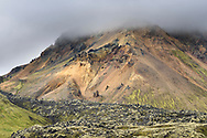 Impressions from Landmannalaugar in the southern highlands, Iceland