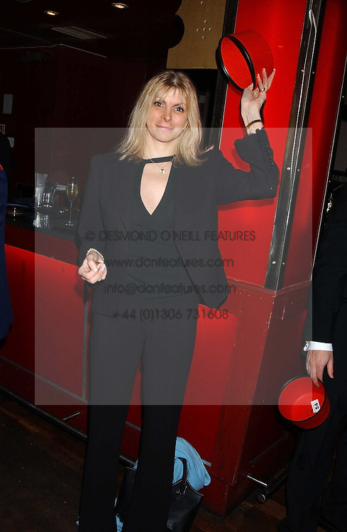 MARISA PEER Life-coach and Hypnotherapist From TV's Celebrity Fit Club at a party to celebrate the recent merger of Chelsea Mortgage Management with Cobalt Capital - A Night in Marrakesh held at Raffles, nightclub, Kings Road, London on 1st December 2005.<br /><br />NON EXCLUSIVE - WORLD RIGHTS