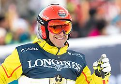 21.01.2017, Hahnenkamm, Kitzbühel, AUT, FIS Weltcup Ski Alpin, KitzCharity Trophy, im Bild Hans Knauss (Gösser) // during the KitzCharity Trophy of FIS Ski Alpine World Cup at the Hahnenkamm in Kitzbühel, Austria on 2017/01/21. EXPA Pictures © 2017, PhotoCredit: EXPA/ Serbastian Pucher