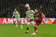 Mihai Bordeianu during the Europa League match between Celtic and CFR Cluj at Celtic Park, Glasgow, Scotland on 3 October 2019.