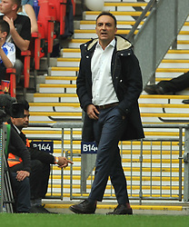 CARLOS CARVALHAL MANAGER SHEFFIELD WEDNESDAY,  Hull City v Sheffield Wednesday Sky Bet Championship Play-Off Final, Wembley Stadium Saturday  28th May 2016.<br /> Photo:Mike Capps