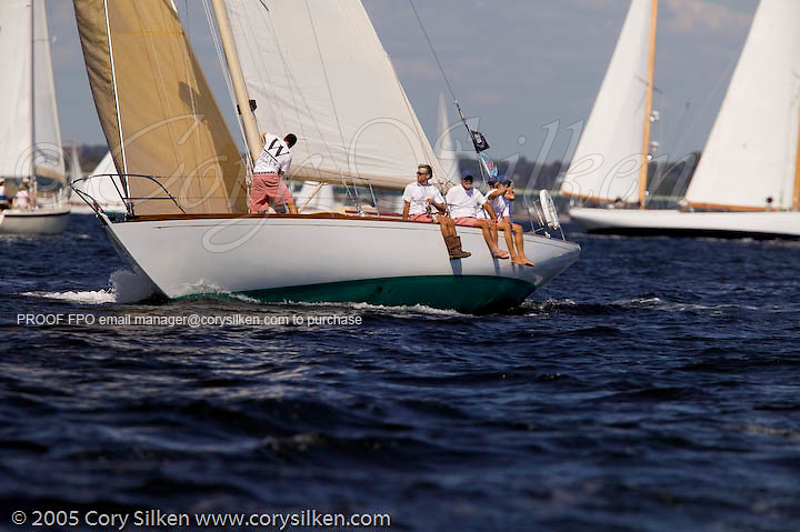 Equus, W Class, Joel White design,  the Best Life Museum of Yachting Classic Yacht Regatta