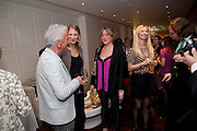 NICKY HASLAM; LADY GABRIELA WINDSOR; VANESSA GAWOOD, , Book launch party for the paperback of Nicky Haslam's book 'Sheer Opulence', at The Westbury Hotel. London. 21 April 2010