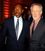 **EXCLUSIVE**.Eddie Murphy & Steven Spielberg.Presidential Candidate Barack Obama Fundraiser, hosted by DreamWorks Movie moguls Steven Spielberg, David Geffen and Jeffrey Katzenberg.Beverly Hilton Hotel.Hollywood, California, USA.Tuesday, February 20, 2007.Photo by Celebrityvibe.com; .To license this image please call (212) 410 5354 ; or.Email: celebrityvibe@gmail.com ;