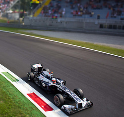 10.09.2011, Autodromo Nationale, Monza, ITA, F1, Grosser Preis von Italien, Monza, im Bild Rubens Barrichello (BRA), AT & T Williams  TILT AND SHIFT // during the Formula One Championships 2011 Italian Grand Prix held at the Autodromo Nationale, Monza, near Milano, Italy, 2011-09-10, EXPA Pictures © 2011, PhotoCredit: EXPA/ J. Feichter