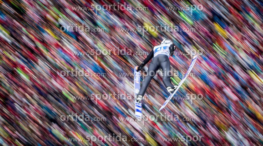 04.01.2014, Bergisel Schanze, Innsbruck, AUT, FIS Ski Sprung Weltcup, 62. Vierschanzentournee, Bewerb, im Bild Ronan Lamy Chappuis (FRA) // Ronan Lamy Chappuis (FRA) during Competition of 62nd Four Hills Tournament of FIS Ski Jumping World Cup at the Bergisel Schanze, Innsbruck, Austria on 2014/01/04. EXPA Pictures © 2014, PhotoCredit: EXPA/ JFK