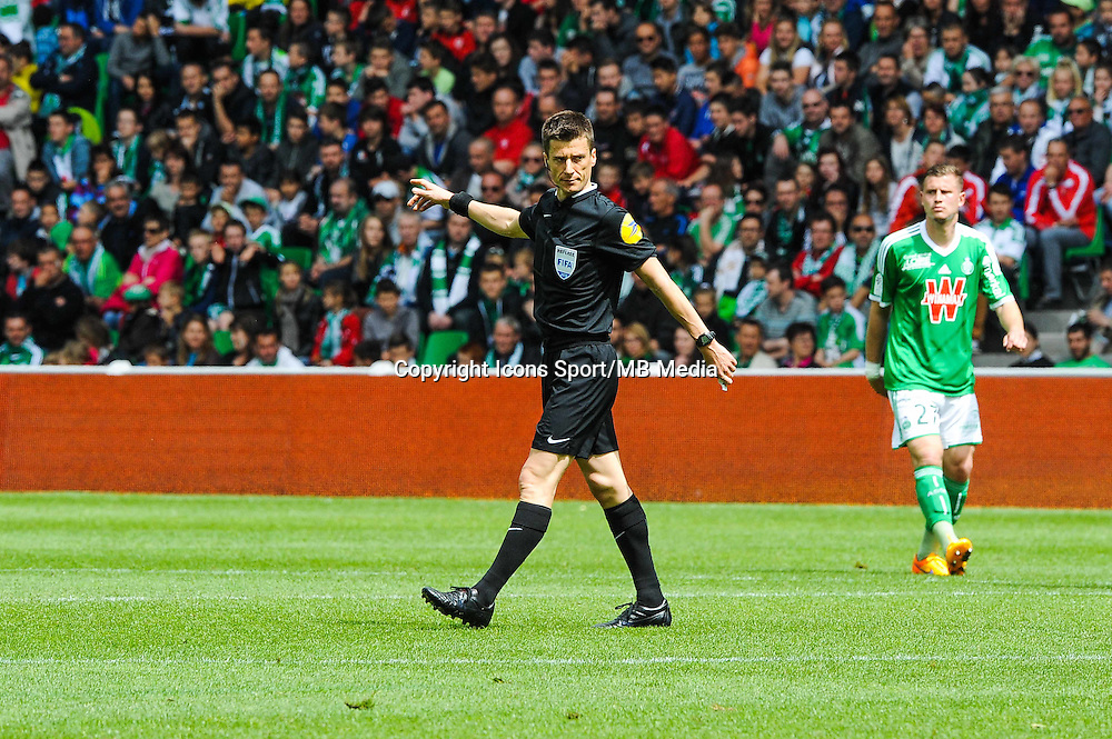 Benoit BASTIEN - 26.04.2015 - Saint Etienne / Montpellier - 34eme journee de Ligue 1<br />