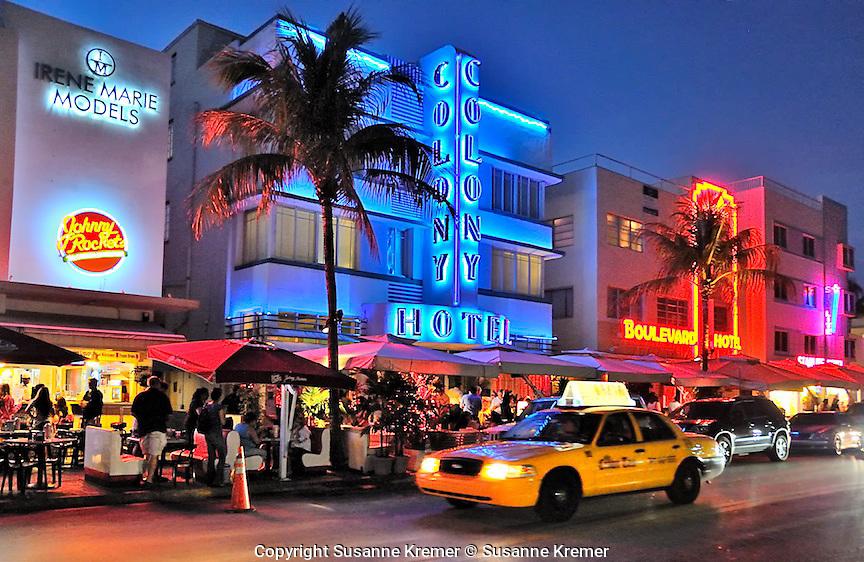 Pink Restaurant South Beach Miami