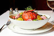 Lobster Salad at Brasserie Ruhlmann New York, NY.