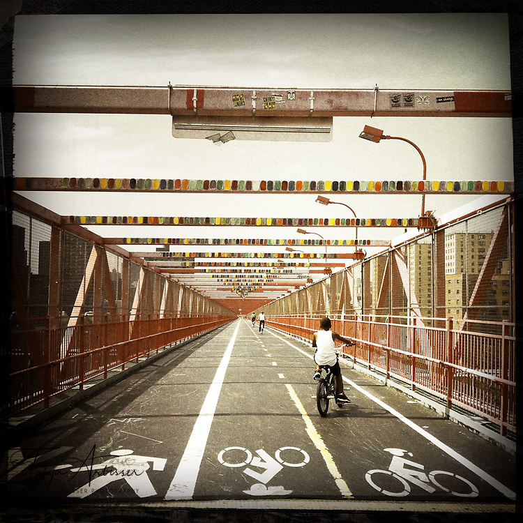 Final stretch (Williamsburg Bridge) - New York, New York