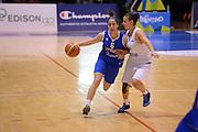 Pomezia, 17/05/2015<br /> Basket, Nazionale italiana Femminile <br /> Amichevole <br /> Italia - Gran Bretagna<br /> Nella foto: Francesca Dotto<br /> Foto Ciamillo