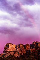 Mount Rushmore National Memorial (near Rapid City), South Dakota USA