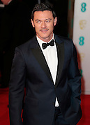 Feb 8, 2015 - EE British Academy Film Awards 2015 - Red Carpet Arrivals at Royal Opera House<br /> <br /> Pictured: Luke Evans<br /> ©Exclusivepix Media