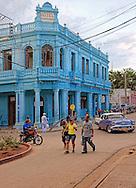 Street in Artemisa, Artemisa Province, Cuba.