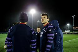 Sam Jeffries of Bristol Rugby looks on - Rogan/JMP - 10/02/2018 - RUGBY UNION - Trailfinders Sports Ground - Ealing Trailfinders v Bristol Rugby - Greene King IPA Championship.