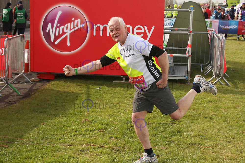 Chris Chittell, Virgin Money London Marathon, London UK, 24 April 2016, Photo by Brett D. Cove