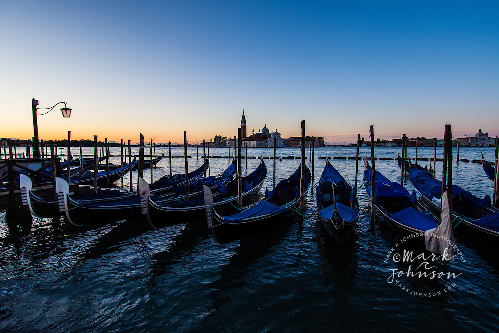 Sunrise on the Grand Canal, Venice, Italy, Europe
