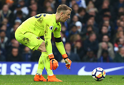 April 8, 2018 - London, England, United Kingdom - West Ham United's Joe Hart.during English Premier League match between Chelsea and West Ham United at Stamford Bridge, London, England on 08 April 2018. (Credit Image: © Kieran Galvin/NurPhoto via ZUMA Press)