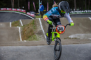 #341 (GRUN Melanie) FRA during round 3 of the 2017 UCI BMX  Supercross World Cup in Zolder, Belgium,